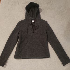 JCrew hooded sweater